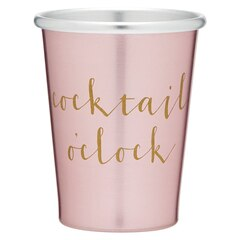 LIGHT PINK METAL SHOT – COCKTAIL O'CLOCK