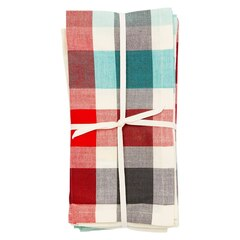 CABIN PLAID NAPKINS – Set of 4