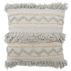 """Hand-Woven Pillow Cover – 20"""" x 20"""", Grey"""