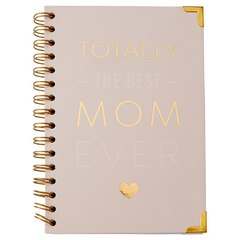 A5 Spiral Notebook - Totally Best Mom Ever - Pink