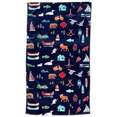Canadian Icons Beach Towel