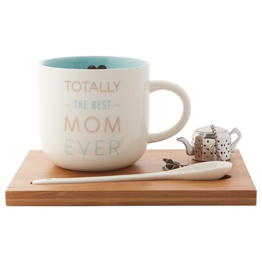 SIMPLE TEA SET – TOTALLY THE BEST MOM EVER
