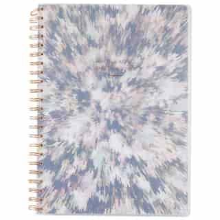 A4 Polypro Spiral Notebook Burst Write Like No Ones