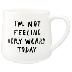 EXPRESSIONS MUG – NOT WORKY TODAY