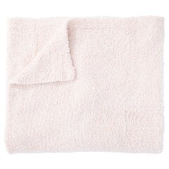 THROW FLUFFY COZY PINK