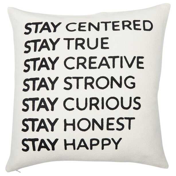 """PILLOW COVER EXPRESSIONS STAY 18"""" x 18"""""""