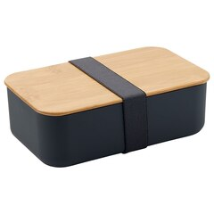 BENTO BOX WITH BAMBOO LID CHARCOAL