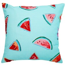"""OUTDOOR PILLOW COVER WATERMELON 18"""" X 18"""""""