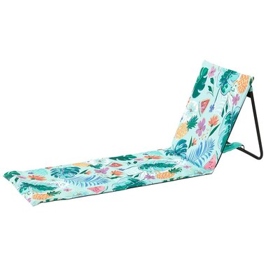 RECLINING BEACH READER CHAIR TROPICAL
