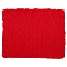POPPY CHUNKY WEAVE PLACEMAT
