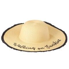 Walking On Sunshine Hat - Black
