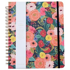 2018-2019 17-Month Spiral Planner Juliet Rose