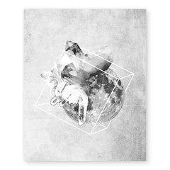 "Geometric Moons Art Print – 11"" x 14"""