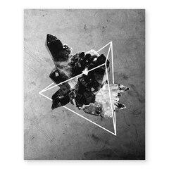 "Geometric Crystal Art Print – 11"" x 14"""
