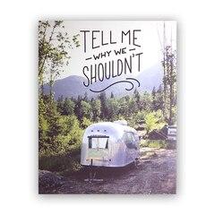 Imprimé « Et pourquoi pas » – 8 x 10 po
