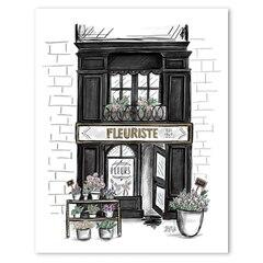 "Fleuriste Art Print - 8"" x 10"""