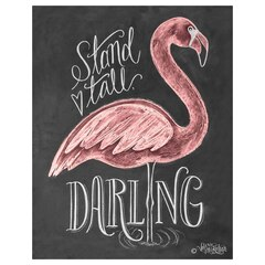 Reproduction 8pox10po — Flamant rose, Stand Tall Darling