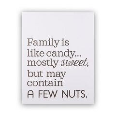 "Family Is Like Candy Art Print – 11"" x 14"""