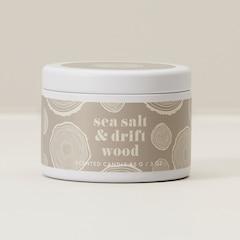Mini Tin Candle – Sea Salt & Driftwood