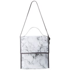 FOLDOVER LUNCH TOTE – Marble