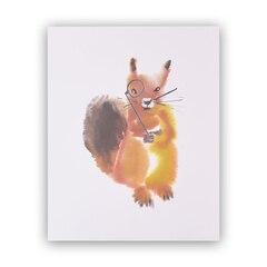"""Sir Squirrel Art Print – 8"""" x 10"""""""