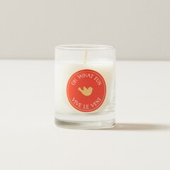 STOCKING STUFFER CANDLE OH WHAT FUN