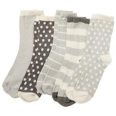 Everyday Cozy Socks - 5 Pack, Grey
