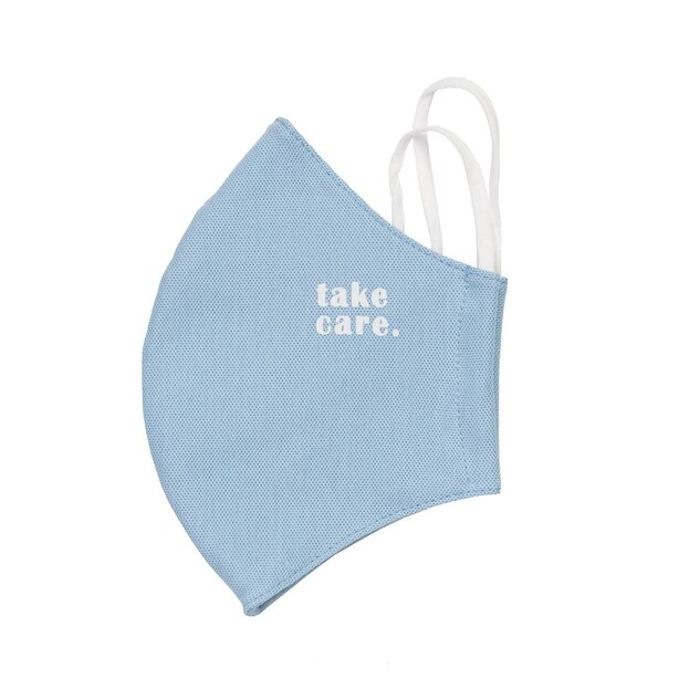 TAKECARE NON-MEDICAL FACE MASK BLUE SET OF 3