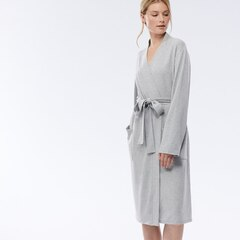 LOVE & LORE ESSENTIAL READING ROBE GREY MEDIUM/LARGE