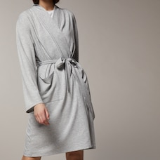 LOVE AND LORE READING ROBE GREY MIX MEDIUM-LARGE
