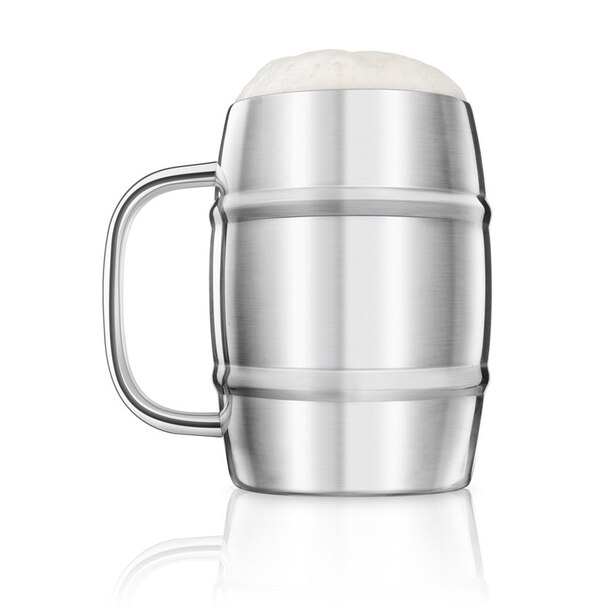 BEER KEG WITH HANDLE