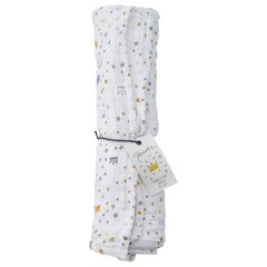 IndigoBaby x Petit Pehr Crowns and Stars Swaddle