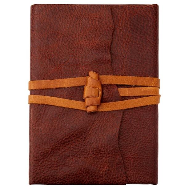At Vintage Leather Journal Vintage Brown