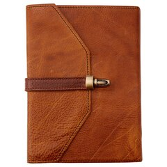 Colonna Leather Journal - Cuoio & Vintage Brown