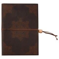 Leather Journal - Kaleidoscope - Dark Brown