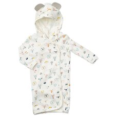 INDIGOBABY BASICS BABY TERRY BATH ROBE ANIMALS