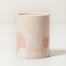 AURIA CRYSTAL CANDLE – ROSE QUARTZ