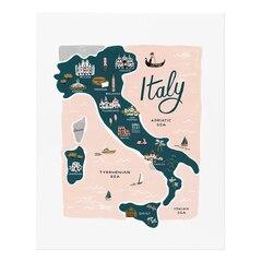 Affiche Italie - 8po x 10po