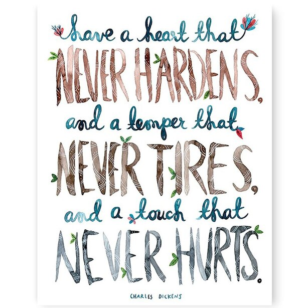 "A Heart That Never Hardens Art Print – 8"" x 10"""
