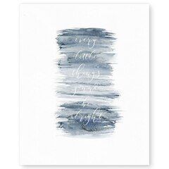 "Don't Worry Art Print – 8"" x 10"""