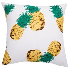 "OUTDOOR PILLOW COVER PINEAPPLE 18"" X 18"""
