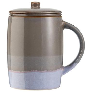 REACTIVE GREY LAVENDER TEA MUG