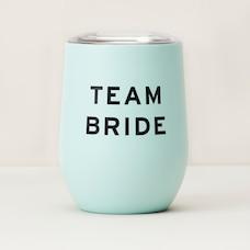 TEAM BRIDE INSULATED WINE GLASS