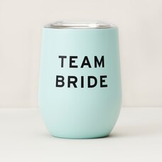 TEAM BRIDE INSULATED WINE GLASS
