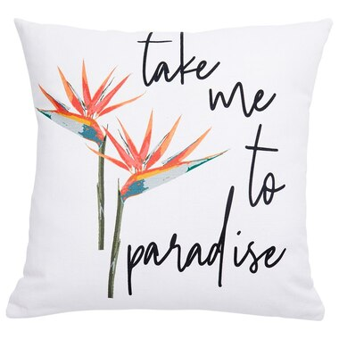"""OUTDOOR PILLOW COVER EXPRESSIONS PARADISE 18"""" X 18"""""""