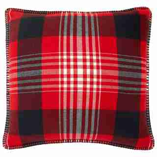"""WINTER PLAID PILLOW COVER – 18"""" X 18"""""""