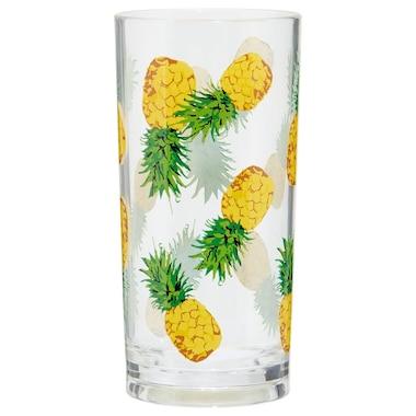 PINEAPPLE ACRYLIC HIGHBALL GLASS – SET OF 4