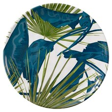 MIXED PALMS MELAMINE SALAD PLATE – SET OF 4