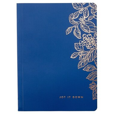ROUND CORNER JOURNAL JOT IT DOWN NAVY