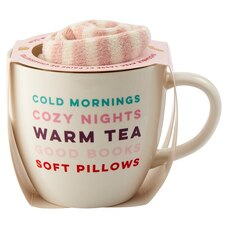 COLD MORNINGS MUG & SOCKS SET